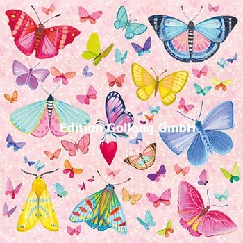 Mila Marquis Postcard   vlinders