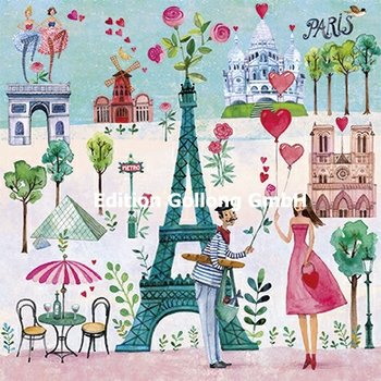 Mila Marquis Postcard   Parijs