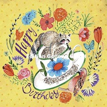 Cartita Design Postcard   Happy Birthday (Wasbeer)