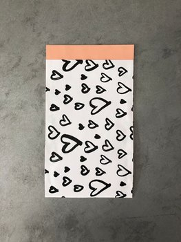 Paper Bags Hearts (12x19cm)