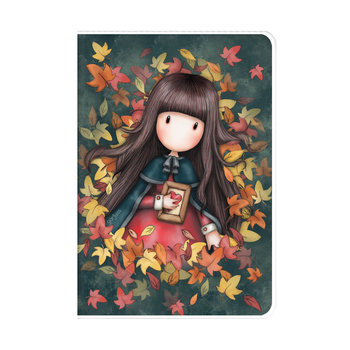 Gorjuss - A5 PVC Cover Notebook - Autumn Leaves