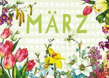 Carola Pabst Postcard   März (Vintage)