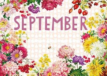 Carola Pabst Postcard   September (Vintage)