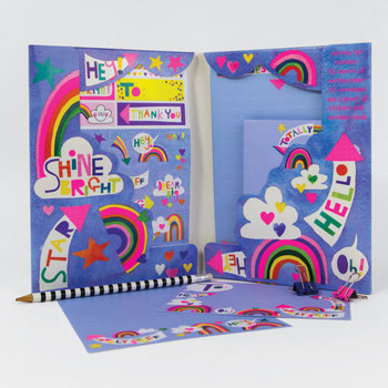 Rachel Ellen Designs Writing Set WALLET - Oh Hey! Pow Wow
