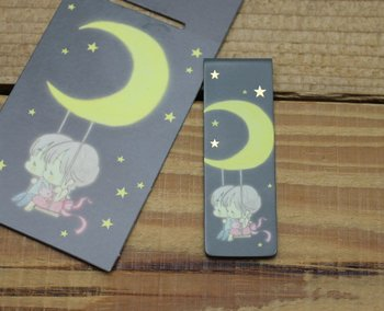 Amy and Tim Collection Magnetic Bookmark (Moon)
