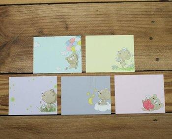 Dear Little Bear Memo Notepaper Set (Balloon)