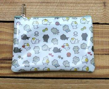 Cat Cat Small Clear Zipper Bag
