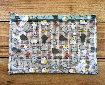 Cat Cat Clear Zipper Bag (A6)