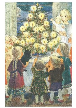 Postcard Mili Weber - Merry Christmas!