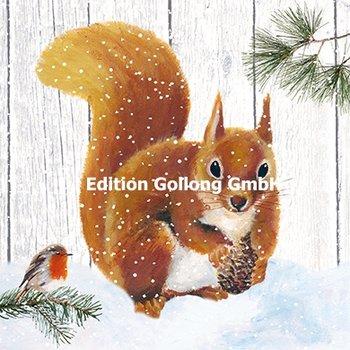 Carola Pabst Postcard | Squirrel
