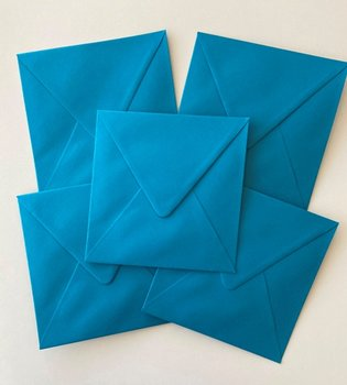 Set of 5 Envelopes 145x145 - Ocean