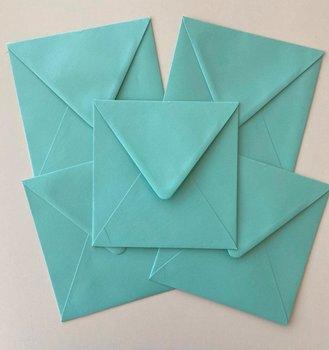 Set of 5 Envelopes 145x145 - Caribbean