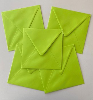 Set of 5 Envelopes 145x145 - May green