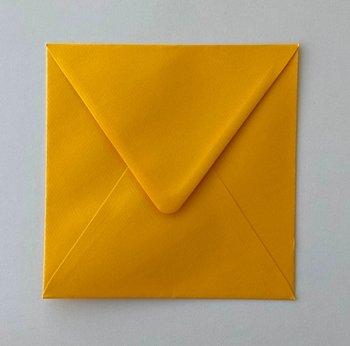 Envelope 145x145 - ocher yellow