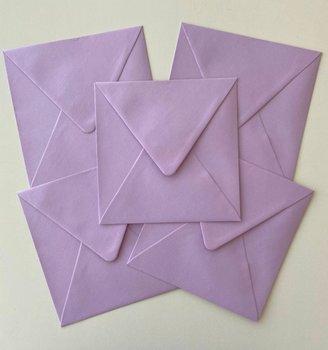 Set of 5 Envelopes 145x145 - Lilac purple