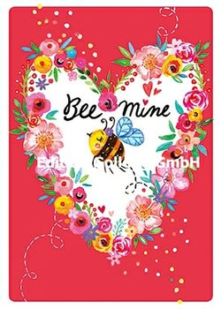 Rita Berman Postcard | Bee mine