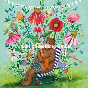 Mila Marquis Postcard   Happy Bearsday (Bär)