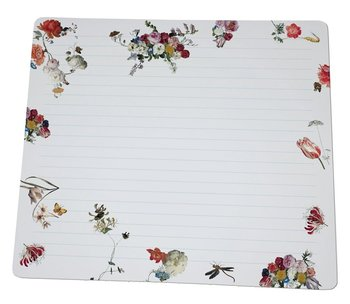 Notebook Desk Planner | Floral Still Lifes, Collection Rijksmuseum