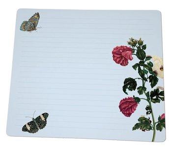 Notebook Desk Planner | Insecten, Maria Sibylla Merian, Teylers