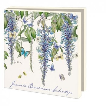 Card folder with envelopes - square: Flowers, Janneke Brinkman-Salentijn