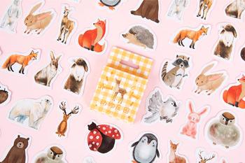 Sticker Flakes Box | Animal farm