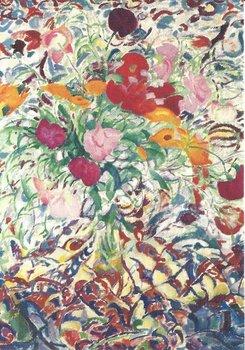 Museum Cards Postcard | Bloemen voor een gebloemde lap