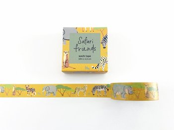 Safari Animals Washi Tape by Mila Made