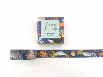 Ocean Animals Washi Tape by Mila Made