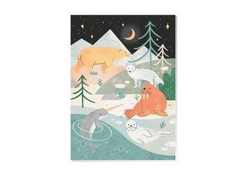 Arctic Animals Postcard