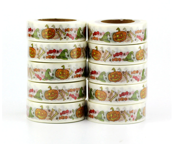 Washi Masking Tape | Halloween Hat Candy Pumpkin