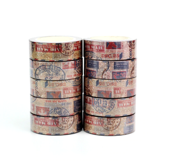 Washi Masking Tape | Santa Mail Airmail