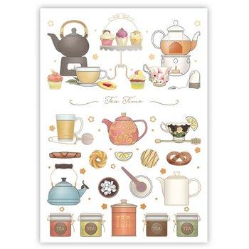 Postcard | Tea Time