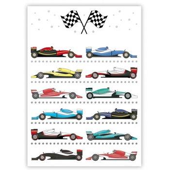 Postcard | Race Cars
