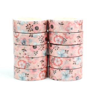 Washi Masking Tape | Pink Flower
