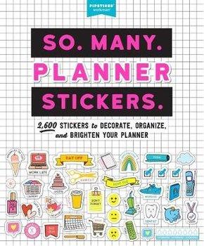 So. Many. Planner Stickers.  2600 Stickers (Pipsticks+Workman)