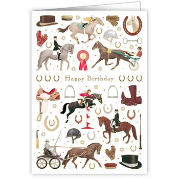Greeting Card - Happy Birthday Horse