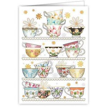 Greeting Card - Tea Cups