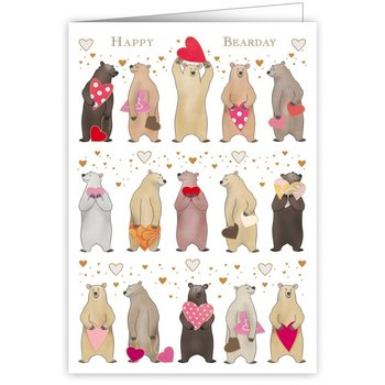 Greeting Card - Happy Bearday