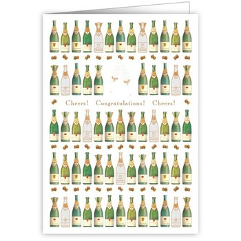 Greeting Card - Cheers Congratulations Cheers