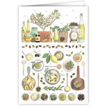 Greeting Card - Olives