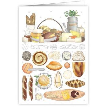 Greeting Card - Cheeses