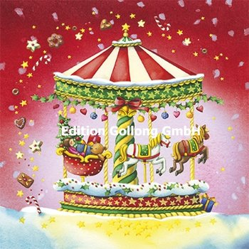 Nina Chen Postcard Christmas | Carousel