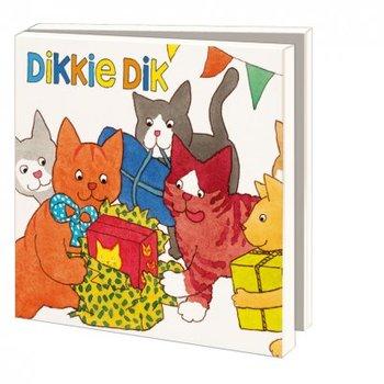 Card folder with envelopes - square: Feest, Dikkie Dik