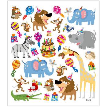 Seal Sticker with Glitter Foil | Birthday Animals