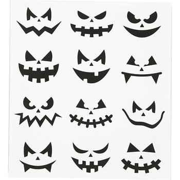 Halloween Seal Sticker | Faces