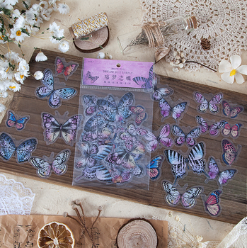 Sticker Flakes | Dream Butterfly