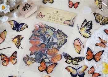 Sticker Flakes | Wind Love Butterfly