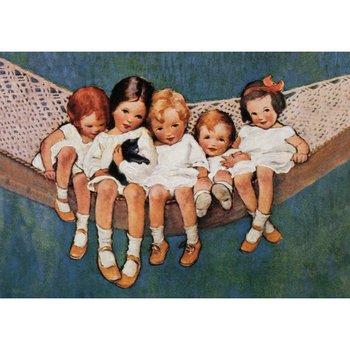 Postcard | Girls in a Hammock