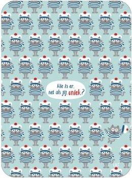 Lali Riddle Search Postcard | Uniek