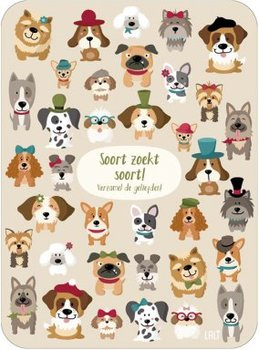 Lali Riddle Search Postcard | Soort zoekt soort!